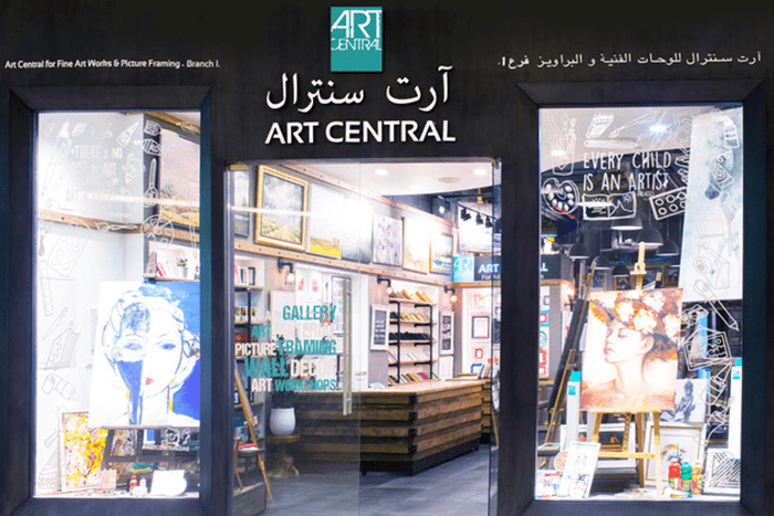 Yalla Abu Dhabi Art Central For Fine Art Works Amp Picture