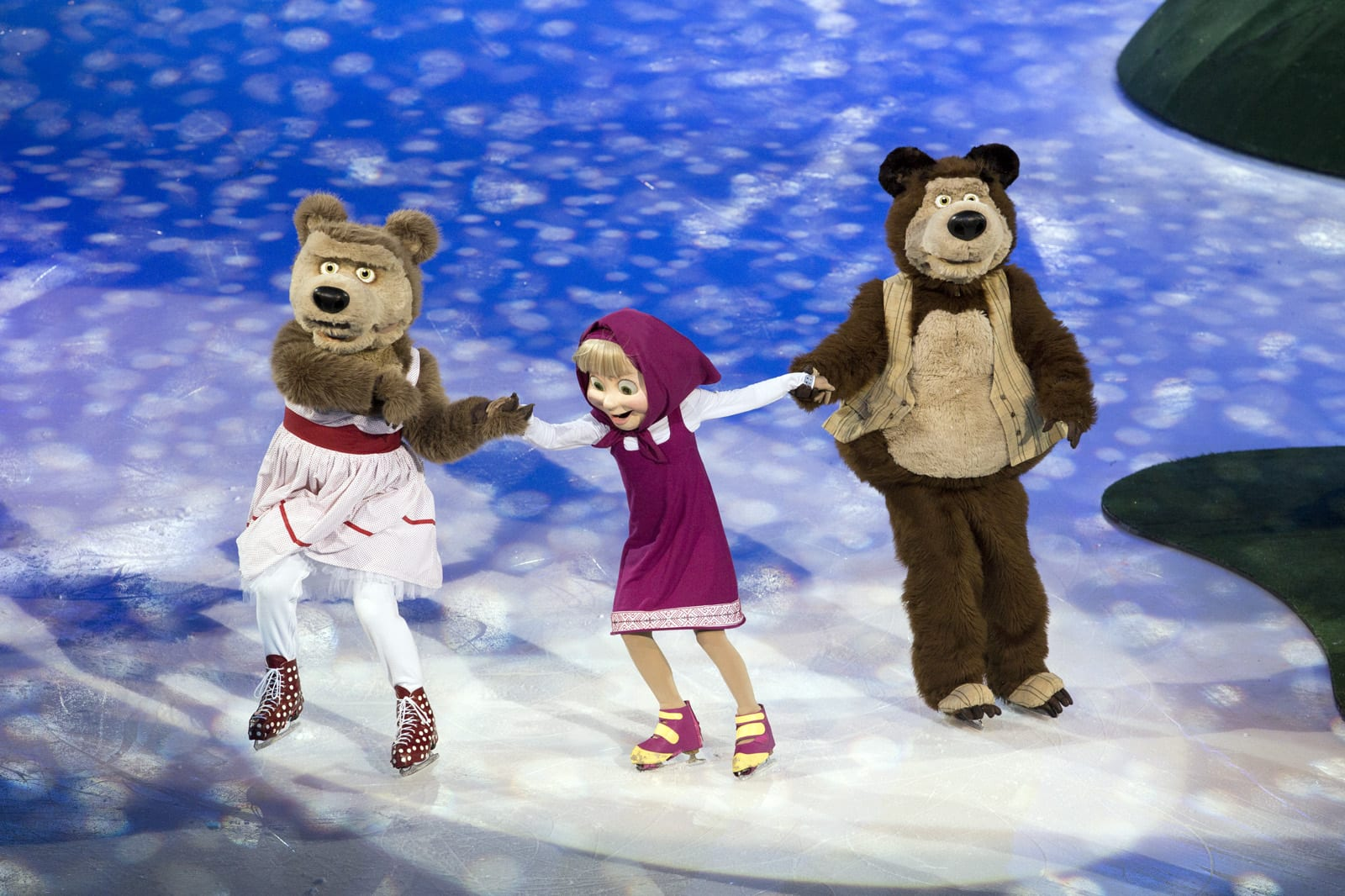 Masha The Bear On Ice