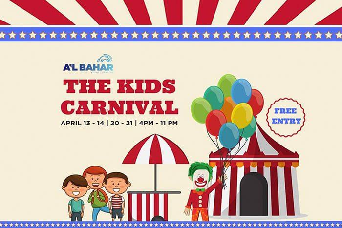 Yalla abu dhabi kids carnival abu dhabi for Al manzool decoration abu dhabi