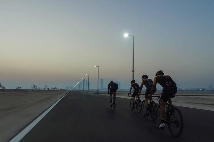 Yalla Abu Dhabi Al Hudayriat Night Cycle Race