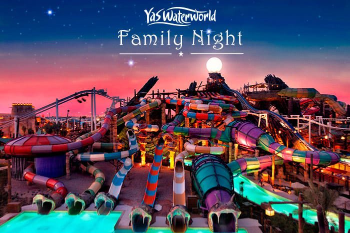 Yalla Abu Dhabi Yas Waterworld Family Night