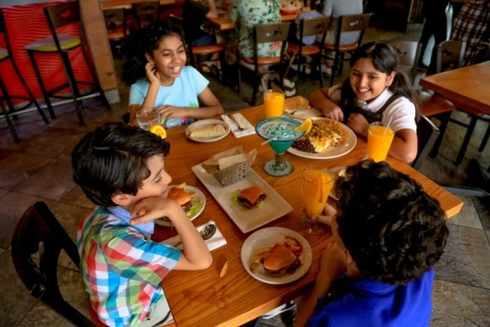 Food fun for the kids at Hala Bil