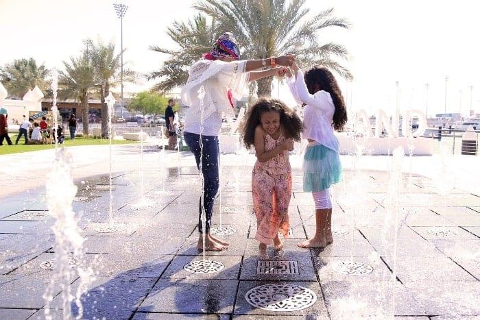 Yas Marina family fun