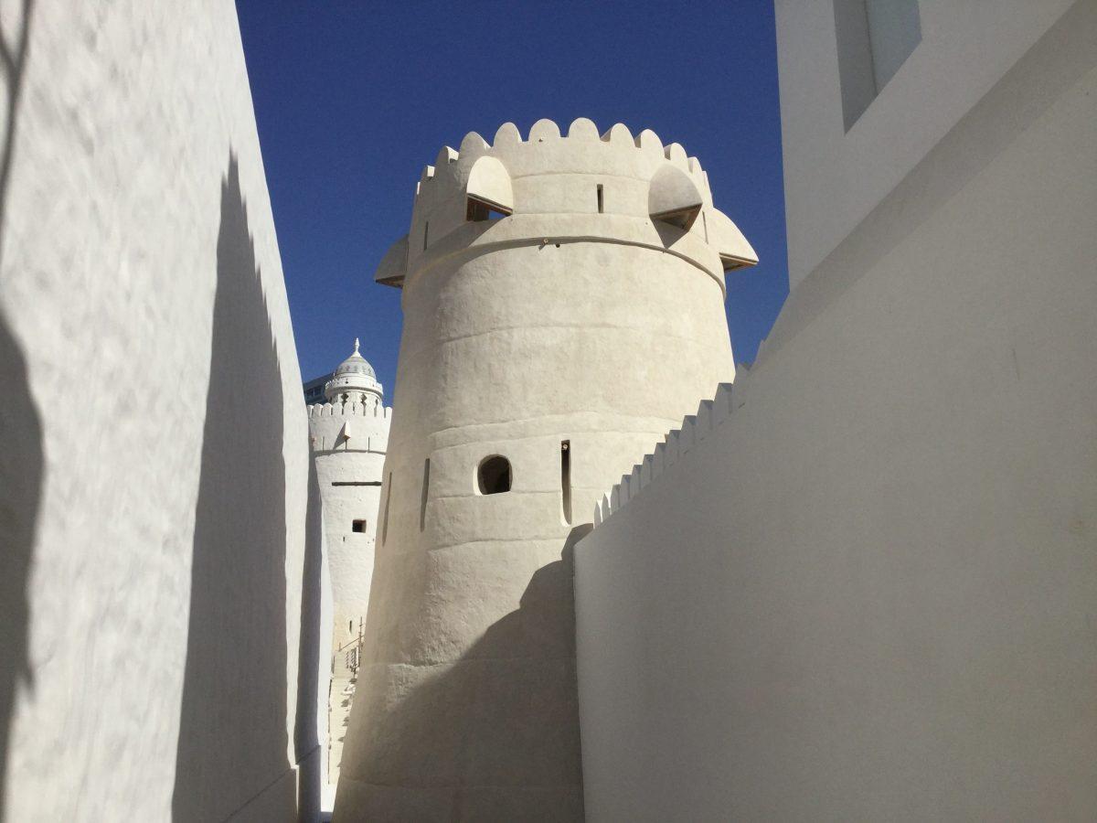 Qasn Al Hosn rennovated tower