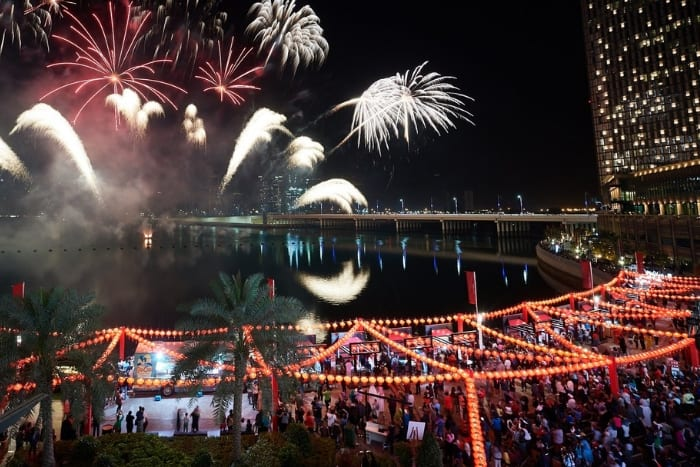 Chinese New Year at Al Maryah Island