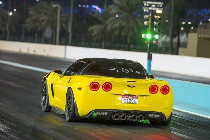 Yas Island Car Racing