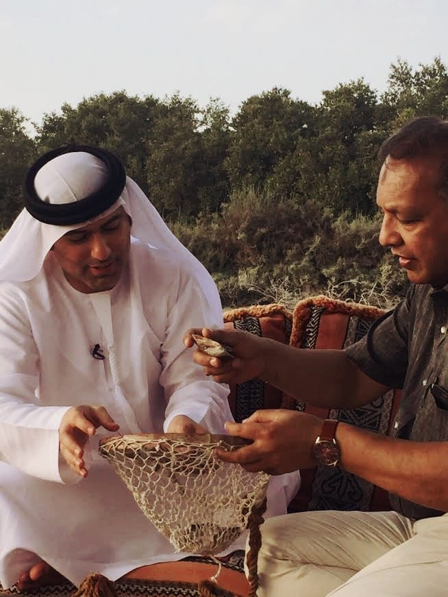 Emirati Experiences - pearl diving