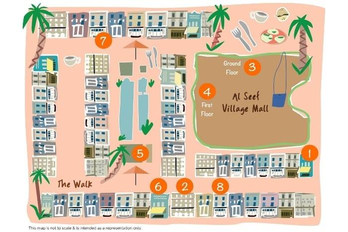 Al Seef Abu Dhabi Eatinerary