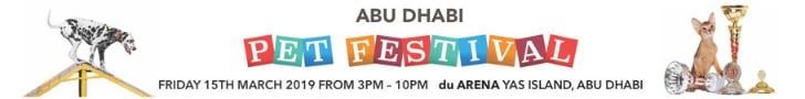 Abu Dhabi Pet Festival 2019