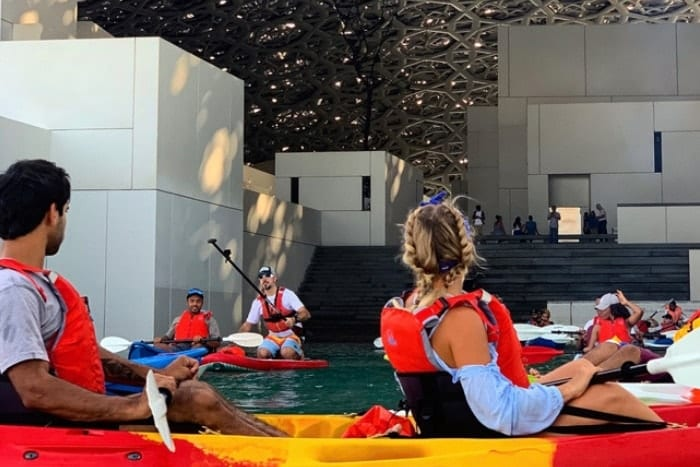 Louvre Abu Dhabi Kayaking Tour