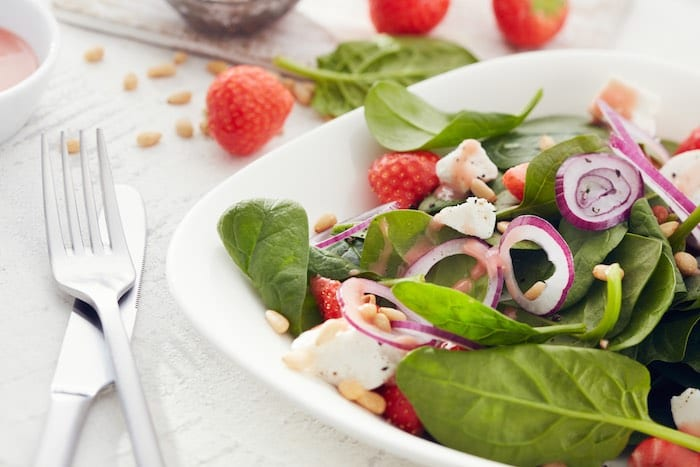 Insalata - Strawberry Spinach