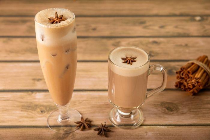 La Brioche Chai latte